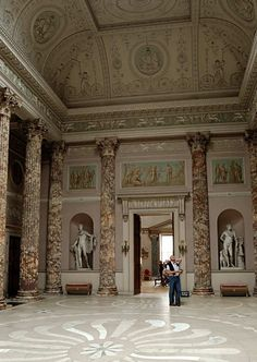 Kedleston Hall, Derbyshire –Inside... what I would give