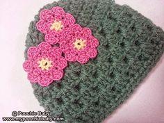 Free Crochet Pattern: Baby Granny Hat