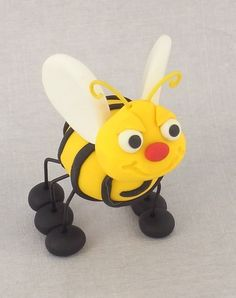 Sculpey III Bee   DIY instructions