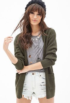 Oversized Knit Cardigan | FOREVER21 - 2055880026 | Why haven't I seen this yet!