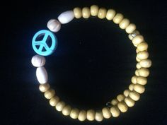 Peace Wood Wraparound by AllaLunaDesign on Etsy