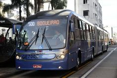 World's largest eco-friendly buses fueled by biodiesel, and powering the Rapid Buss System in Curitiba City, Brazil.