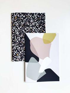 Stylische Design Produkte & mehr im Terrazzo-Style von kreativkollaps! Im Kreativkollaps Online Shop findest du viele Produkte im Terrazzo Trend von Kissen, Kalender 2018, Notizhefte, Postkarten und kleine Spiegel ist alles im Terrazzo Look dabei! Terrazzo, Rugs On Carpet, Carpets, Matisse, Confetti, Stationary, Fancy, Inspired, Inspiration