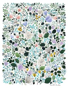 Morning Frost Meadow, by Anna Emilia Laitinen.  15% of the sale of this print goes to the Pablove Foundation.