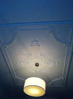 Art Deco ceiling; Dinning Room