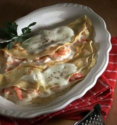 Thyme's Crab & Shrimp Crepes