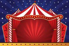 Painel Decorativo Festa Infantil Circo Palhaço (mod1) - R$ 49,90 no MercadoLivre