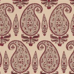 Michael S. Smith - Kashmir Paisley Fabric.