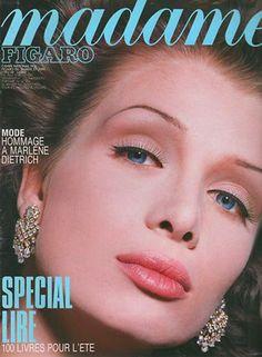 Angelika Kallio Cover Madame Figaro - June 1992