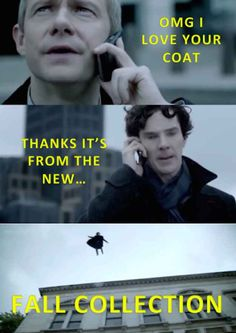 When Sherlock and John had a nice, normal little chat.