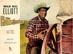 THE HOMESTEADERS (1953) - Wild Bill Elliott - Allied Artists - Lobby Card.