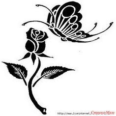 Трафареты шаблоны картинки векторные бабочки: 17 тыс изображений найдено в…
