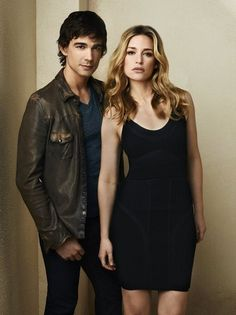Still of Piper Perabo and Christopher Gorham in Covert Affairs//Love this series!