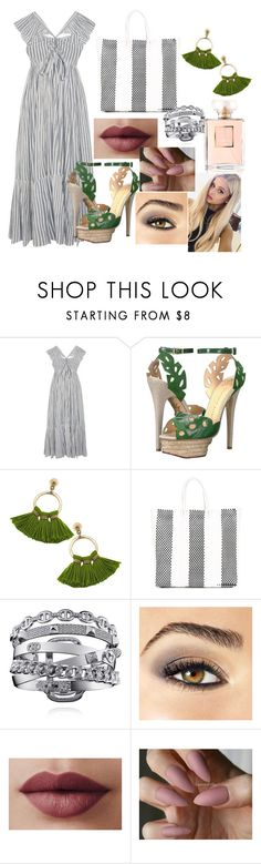 """Untitled #551"" by ancamlk ❤ liked on Polyvore featuring Ulla Johnson, Charlotte Olympia, TRUSS, Avon and Chanel"