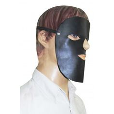 #Leather_Halloween_Face_Mask, this product Made From Real Buff Nappa Leather.