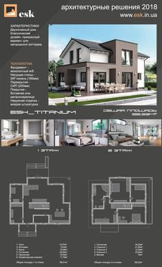 Multi Story Building, Mansions, House Styles, Projects, Home Decor, Log Projects, Blue Prints, Decoration Home, Manor Houses