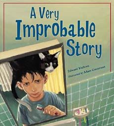 A very improbable story : a math adventure by Edward Einhorn Waking up one morning to find a talking cat on his head, Ethan is informed that the cat will not leave until he - Ethan - wins a game of probability. Math Teacher, Math Classroom, Teaching Math, Teaching Ideas, Elementary Teacher, Classroom Ideas, Teacher Stuff, Teaching Time, Math Literacy