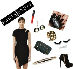 Everybody needs a little black dress. A killer LBD with sexy cutouts, asymmetrical design and a body conscious fit is even better! If you're feeling edgy, you'd better channel your inner rocker child and pair that dress with some studs, zippers, and bold statement jewelry.   And whatever you do, don't forget the attitude!  http://www.shopambience.com/bec_and_bridge_nile_asymmetrical_dress_p/nile-bec-and-bridge.htm