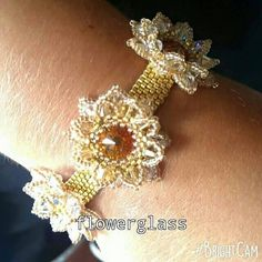 Check out this item in my Etsy shop https://www.etsy.com/uk/listing/239876760/corsage-bracelet-in-swarovski-crystal