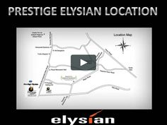 Prestige Elysian project from the Prestige Group on the Bannerghatta Road is coming up with 1, 1.5, 2, 2.5, 3, 3L, 4 BHK luxurious apartments in Bangalore. http://www.prestigeelysianbangalore.in/index.html
