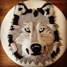 Birthday Cake Photos - Wolf