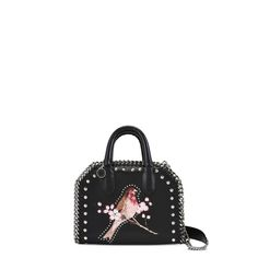 d44a5ed6e9 Shop the Black Falabella Box Bird Mini Bag by Stella Mccartney at the  official online store