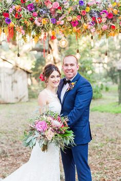 Photographer: Magnolia Photography | Event Venue: Sunnyside Plantation | Cinema and Video: Stan Weddings and Video | Makeup Artist: Beautiful Salon and Spa | Dress Store: The Dressing Room | Floral Designer: RSG Event Designs | Submitted via Two Bright Lights Myrtle Beach Wedding, Beach Wedding Reception, Summer Wedding Colors, Spring Wedding Flowers, Bright Color Wedding, Orange And Pink Wedding, Floral Wedding Stationery, Magnolia Wedding, Strictly Weddings