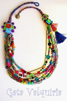 Crochet Necklace Crochet Headb