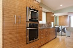 Bamboo Project - bamboo veneer kitchen