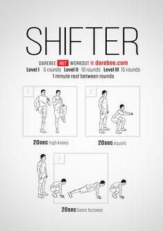 Shifter Workout