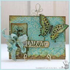 Tammy Tutterow Love You Friend Card   www.rangerink.com