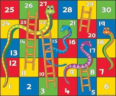 Ludo Bing snake and ladder game Check out other related videos: School Closures, Goal Planning, Phonics, Ladder, Board Games, Snake, Kindergarten, Printables, Teaching