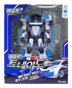 Tobot Athlon Tornado Transformer Transforming Rescue Robot Car Toy 2016 for sale online Toy Packaging, Packaging Design, Korea, Weekend Crafts, Animation, Personalized Books, My Buddy, Police Cars, Transformers