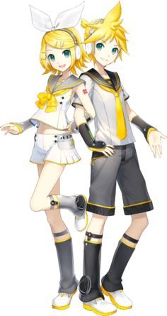 Kagamine Rin/Len | Vocaloid Wiki | Fandom powered by Wikia