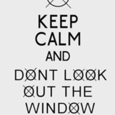 If you know me well (or want to know me well) you know I love Creepypasta and WILL look out the window