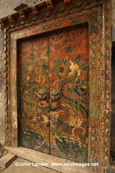images of things chinese | china | swirls doors and enchanted things