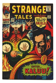 Items similar to Doctor Strange Tales Vintage books. 1966 Marvel Comics, FN or FVF on Etsy Marvel Comic Books, Comic Books Art, Marvel Comics, Comic Art, Book Art, Marvel Vs, Marvel Characters, Doctor Strange, Vintage Comics