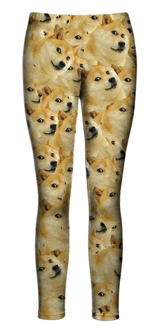 Such leg. Many wants. So bootyful. Much love. Impress doge.
