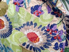 Missoni fabrics silk embroidery new 2013 spring collection.