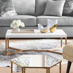 DwellStudio Iris Coffee Table | AllModern