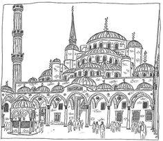 Turkey, Istanbul, Sultanahmet Camii (Blue Mosque)   Flickr - Photo Sharing!