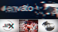 ▱ [GET]◈ Glitch Opener Digital Distortion Dynamic Opener Event Promo Fashion Title Logo Intro Music Glitch Gif, Glitch Video, Grunge, Logo Reveal, Retro Videos, After Effects Projects, Motion Design, New Wave, Edm