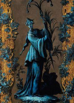 Les Arts Décoratifs - Site officiel - Diaporama - Détail d'un panneau de berline, Paris, attr. à Guillaume ou Étienne-Simon Martin, vers 174...