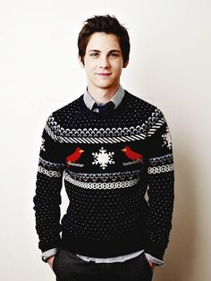 [Hayden is wearing a Christmas sweater because he's a smol forgetful bean who doesn't know any better]