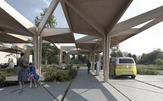 COBE .  Charging station for electric vehicles. Fredericia (2)