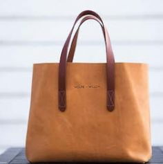 Amberley Tote Bag in Tan By Wolfie + Willow