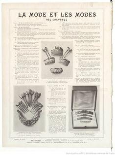 Les Modes : revue mensuelle illustrée des Arts décoratifs appliqués à la femme | 1911-01 | Gallica