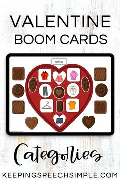 Engage your elementary and early elementary students with this hands on engaging, digital resource that targets categorization. This boom card deck is appropriate for your preschool, elementary and early elementary students. Use this language activity during teletherapy, distance learning or in person speech therapy sessions. Categories include: seasons, house, animal and food themes. A fun Valentine's Day therapy language activity.