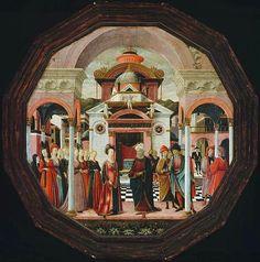 File:Francesco del Cossa. Desco da parto with Solomon and Sheba (verso),1476, Boston MFA.jpg