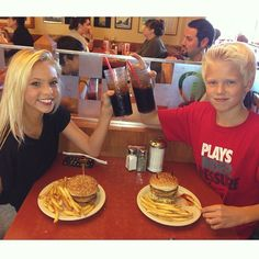 carson lueders with jordyn jones